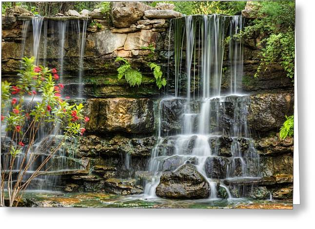 Flowing Falls Greeting Card