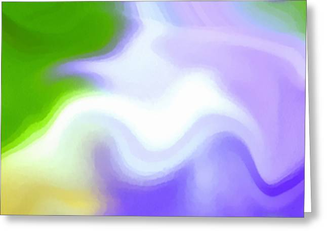 Flowing With Life 13 Greeting Card