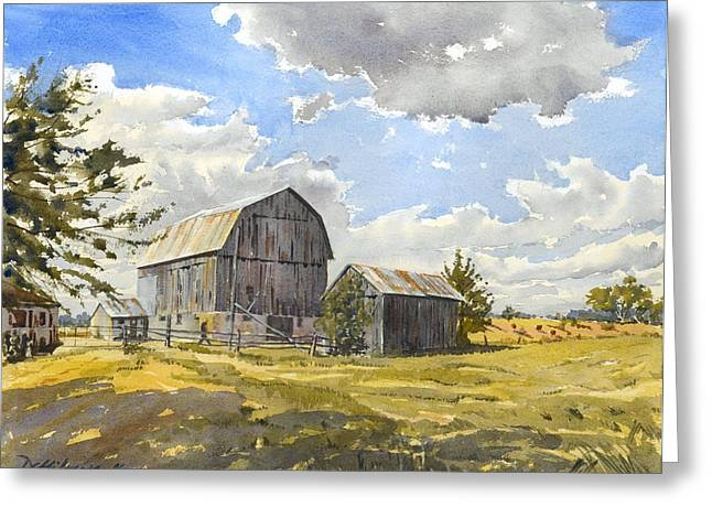 Floyd's Barn No.1 Greeting Card