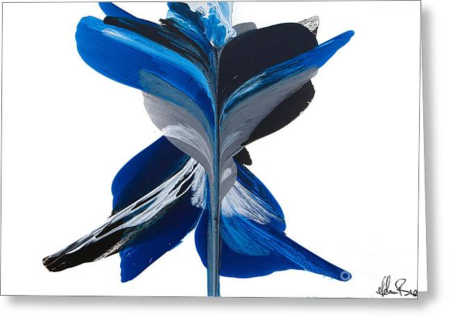 Fluidity - Number 36 Greeting Card