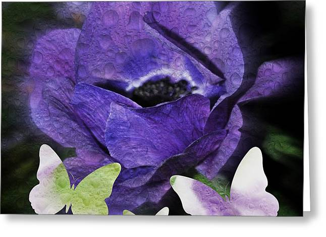 Greeting Card featuring the photograph Flutterbys by Amanda Eberly-Kudamik