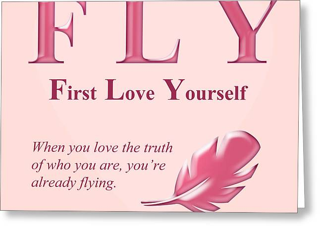 Fly Buseyism By Gary Busey Greeting Card by Buseyisms Inc Gary Busey