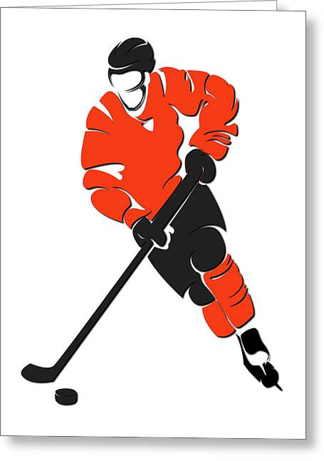 Flyers Shadow Player Greeting Card
