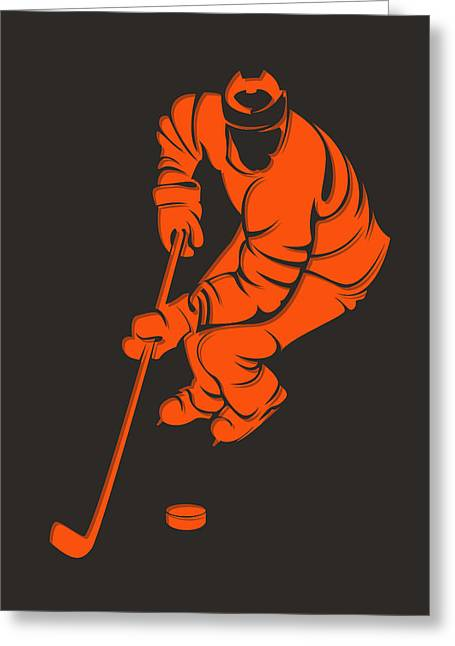 Flyers Shadow Player3 Greeting Card by Joe Hamilton