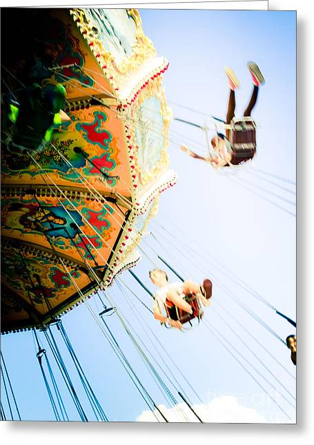 Flyin' High Greeting Card by Colleen Kammerer