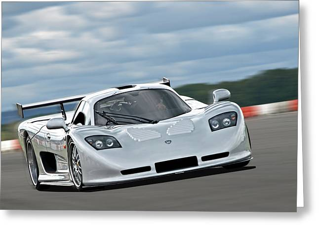 Flying At Zero Ft - Mosler Mt900 Greeting Card by Gill Billington