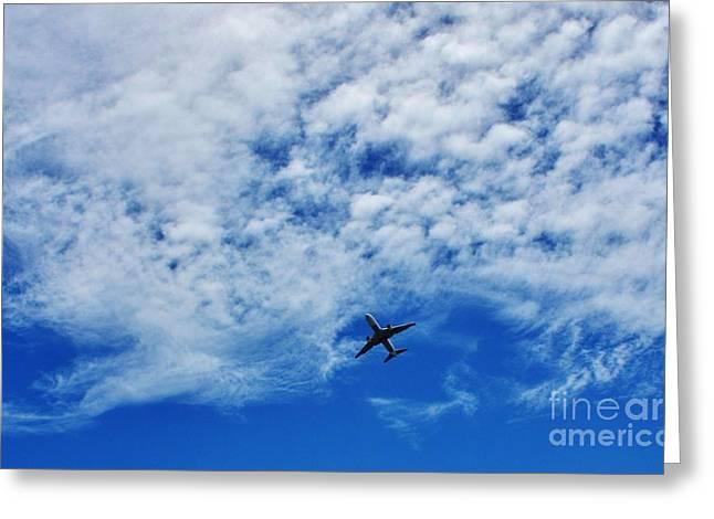 Flying Greeting Card by Craig Wood