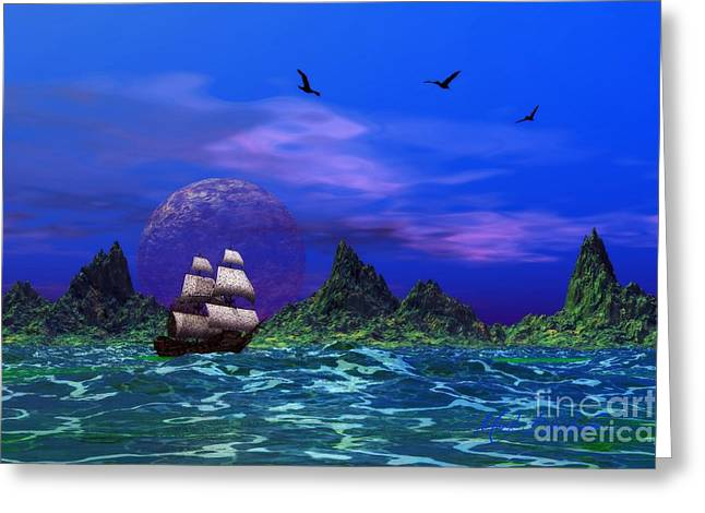 Greeting Card featuring the photograph Flying Dutchman by Mark Blauhoefer
