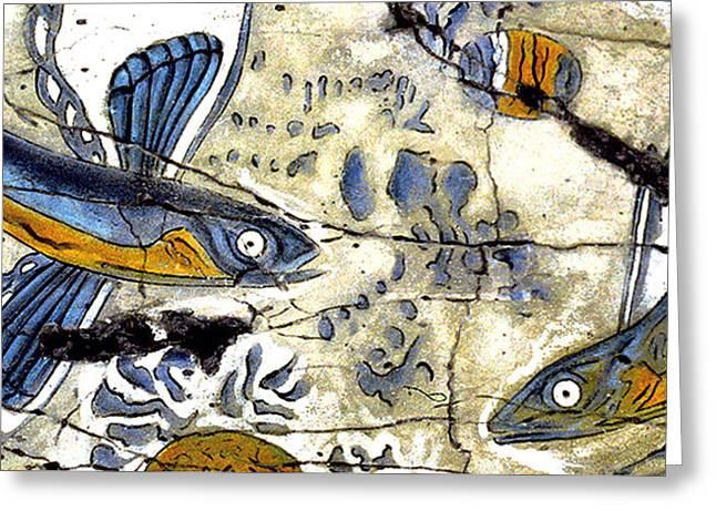 Flying Fish No. 3 - Study No. 1 Greeting Card