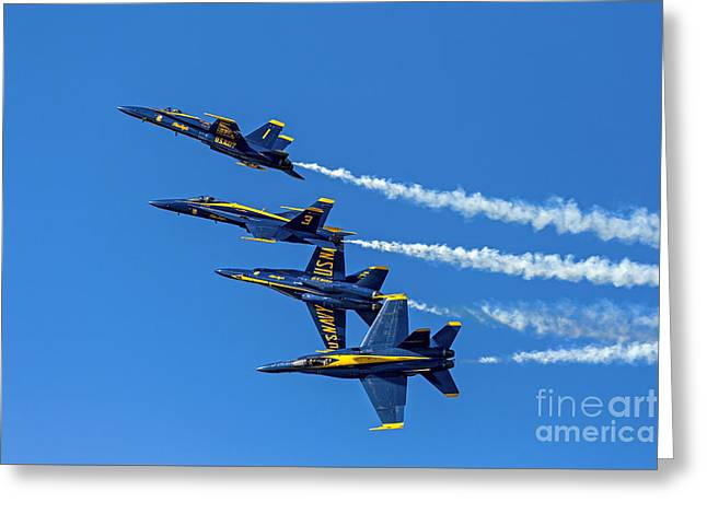 Flying Formation Greeting Card