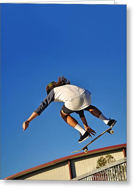 Flying High - Action Greeting Card