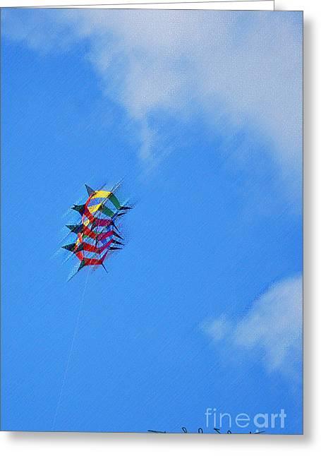 Flying High II  Greeting Card by Art Mantia