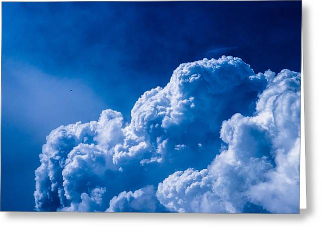 Flying The Stormy Skies - Featured 3 Greeting Card by Alexander Senin