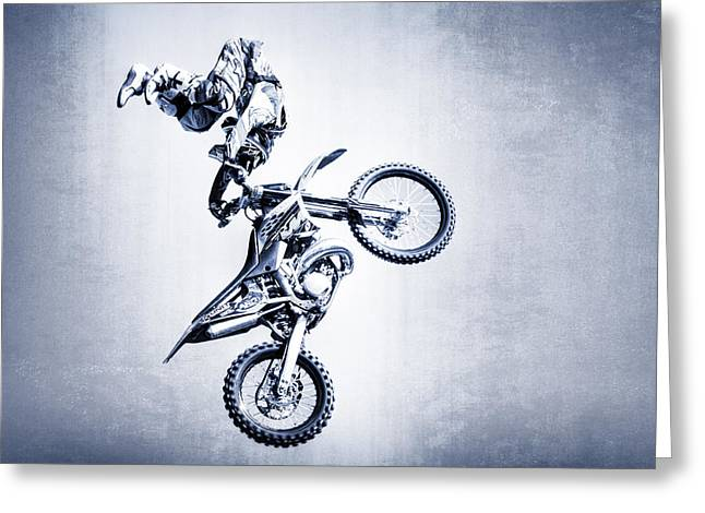 Fmx 1 Greeting Card by Edwin Lee Moller