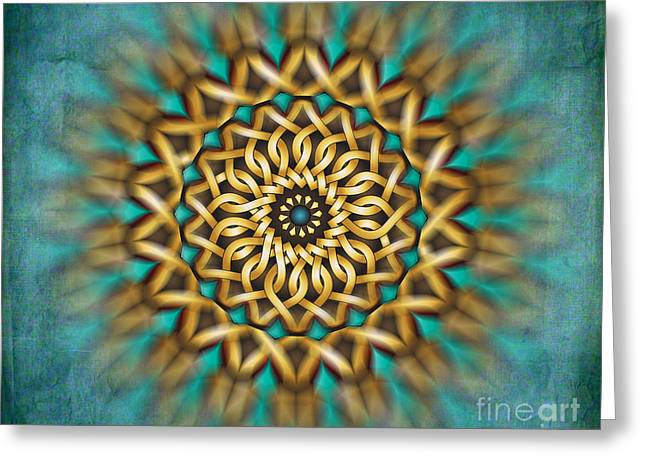 Focus Point Greeting Card by Bedros Awak
