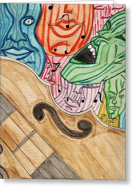 Fofm Greeting Card by Artists With Autism Inc