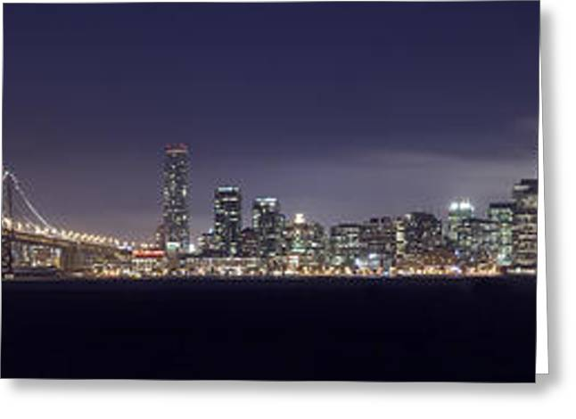 Fog City San Francisco Greeting Card by Mike Reid