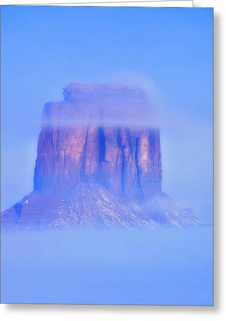 Fog Cover  Greeting Card