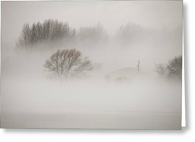 Fog Greeting Card by J A Cahill
