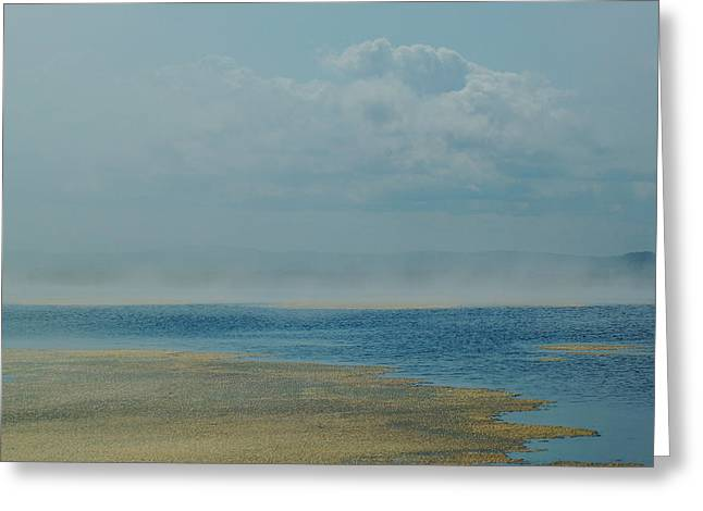 Fog Lifting Greeting Card