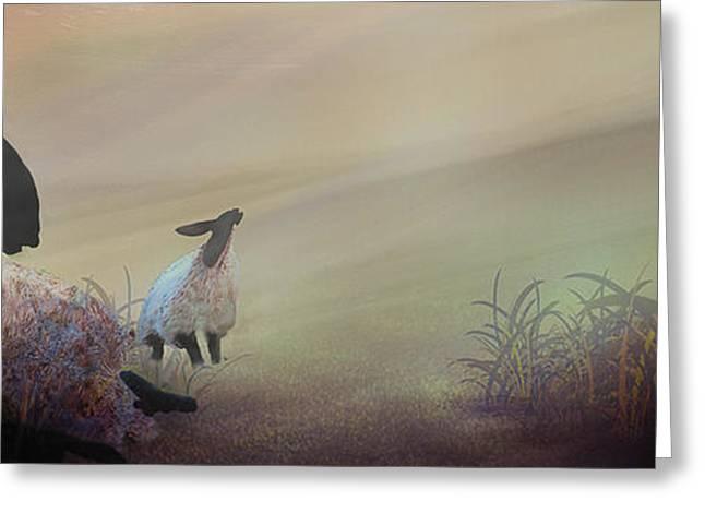 Fog On The Moor Greeting Card