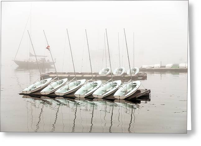 Fogged In Greeting Card by Bob Orsillo