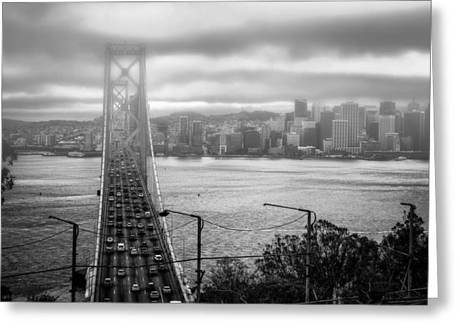 Foggy City Of San Francisco Greeting Card