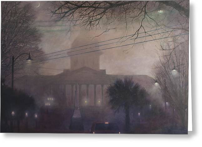 Foggy Dome Greeting Card