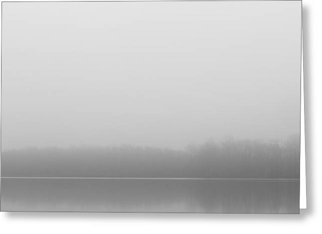 Foggy Morn At Lums Pond Greeting Card by Gary Regulski