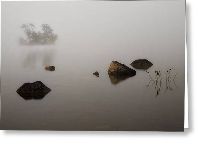 Foggy Morn Greeting Card