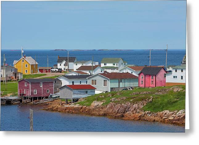 Fogo Island, Newfoundland, Canada Greeting Card
