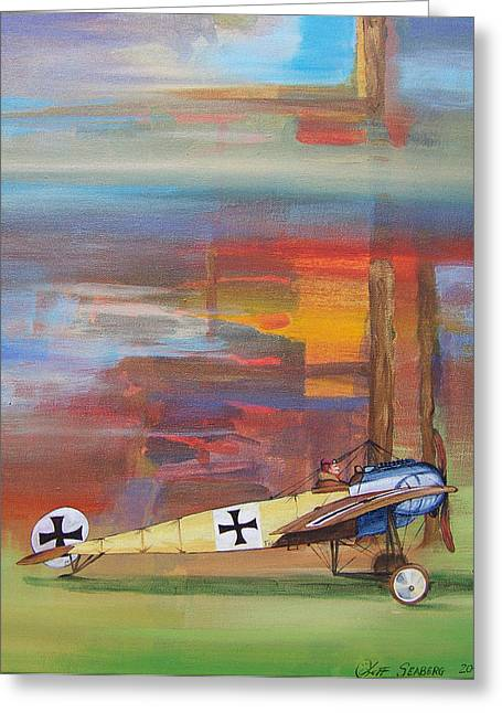 Fokker Ready Greeting Card