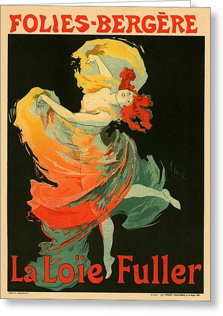 Follies Bergere Greeting Card by Gianfranco Weiss