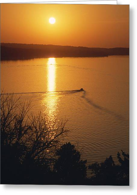 Follow Me Home - Lake Geneva Wisconsin Greeting Card
