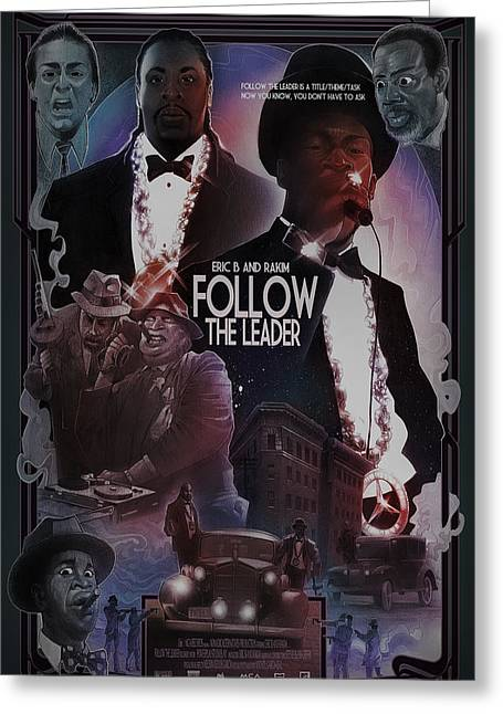 Follow The Leader 2 Greeting Card by Nelson Dedos Garcia