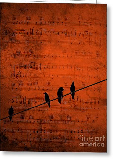 Follow The Music Greeting Card