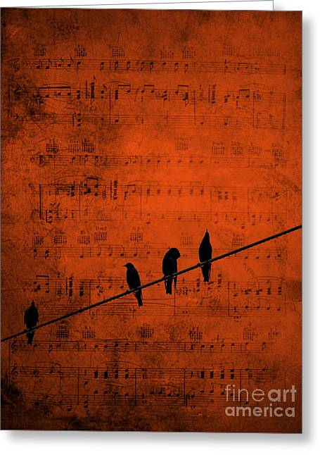 Follow The Music Greeting Card