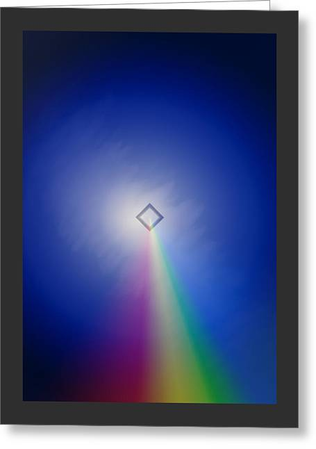 Follow The Rainbow Greeting Card