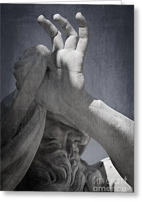 Fontana Dei Quattro Fiumi - River Nile Greeting Card