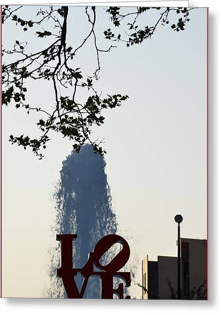 Fontana Di Amore Greeting Card