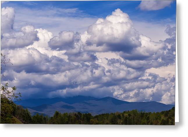 Fontana Lake Storm 2 Greeting Card by Chris Flees