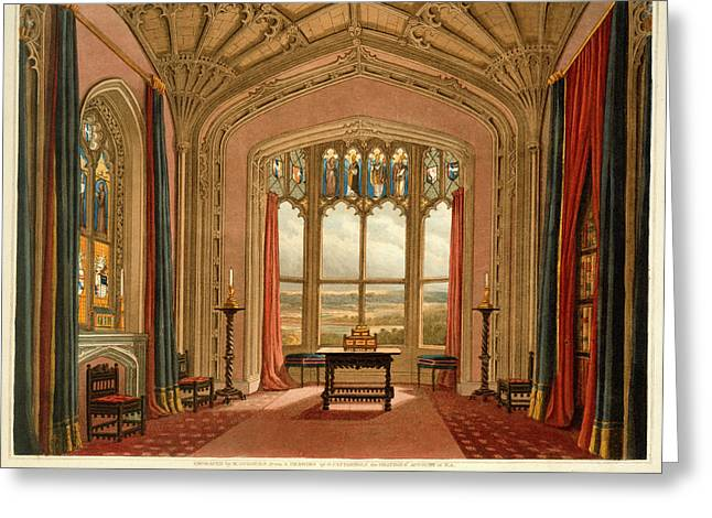 Fonthill Abbey Greeting Card by British Library