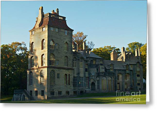 Fonthill Castle In September - Doylestown Greeting Card