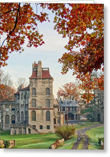 Fonthill Castle In The Fall Greeting Card