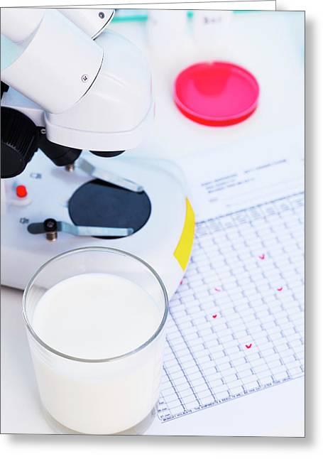 Food Chemistry Greeting Card