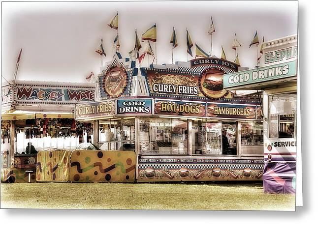 Tasty Carnival Delights Greeting Card by Spencer McDonald