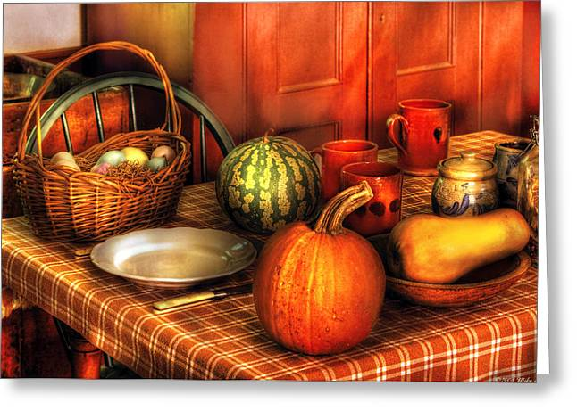 Food - Nature's Bounty Greeting Card