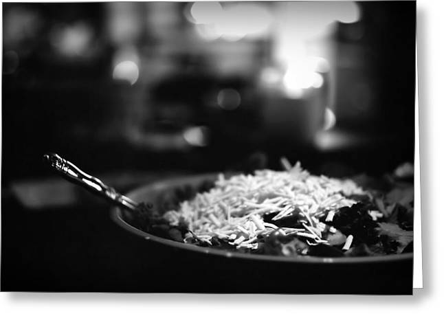 Food On Film Greeting Card by Linda Unger