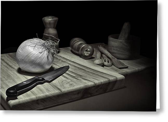 Food Prep Still Life Greeting Card
