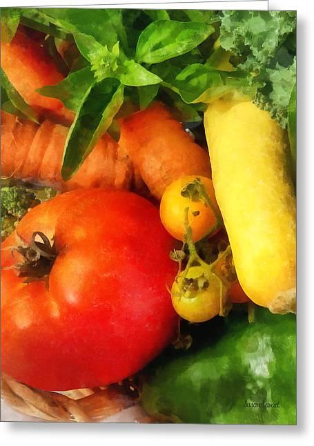 Food - Vegetable Medley Greeting Card